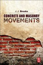 Concrete and Masonry Movements - Jeffrey Brooks