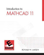 Intro to MathCAD 11 - Ronald W. Larsen