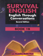 Survival English: Book 1B : English through Conversations - Lee Mosteller