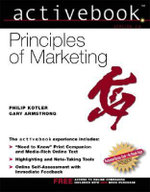 Principles of Marketing, Activebook 2.0 - Gary Armstrong