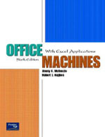 Office Machines : With Excel Applications - Jimmy C. McKenzie