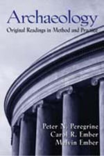 Archaeology : Original Readings - Peregrine