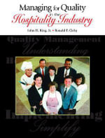 Managing for Quality in the Hospitality Industry - John H. King