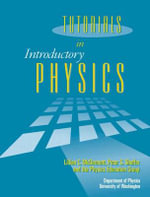 Tutorials in Introductory Physics and Homework Package - Lillian C. McDermott
