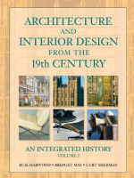 Architecture and Interior Design from the 19th Century, Volume 2 : An Integrated History - Buie Harwood