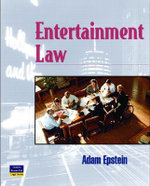 Entertainment Law : West Legal Studies (Hardcover) - Adam Epstein