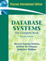 Database Systems : The Complete Book - Hector Garcia-Molina