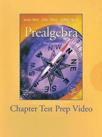 Prealgebra :  Chapter Test Prep - Jamie Blair