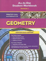 Prentice Hall Mathematics, Geometry All-In-One Workbook : Version a - Pearson Prentice Hall