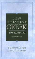 New Testament Greek for Beginners - John Gresham Machen