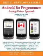 Android for Programmers : An App-Driven Approach - Paul J. Deitel