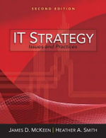 IT Strategy : Issues and Practices - James D. McKeen