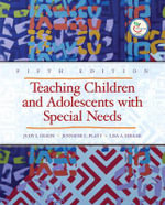 Teaching Children and Adolescents with Special Needs - Jennifer Platt