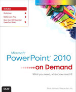 Microsoft PowerPoint 2010 On Demand - Steve Johnson