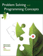 Problem Solving and Programming Concepts - Maureen Sprankle