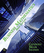 Business Mathematics Brief - Gary Clendenen