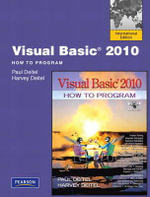 Visual Basic 2010 How to Program : Visual QuickStart Guide - Paul J. Deitel