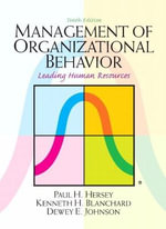 Management of Organizational Behavior - Paul H. Hersey
