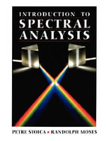 Introduction to Spectral Analysis - Petre Stoica