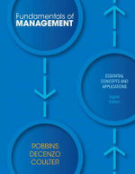 Fundamentals of Management : Essential Concepts and Applications - Stephen P. Robbins