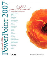 Microsoft Office PowerPoint 2007 On Demand - Perspection Inc.
