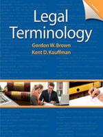 Legal Terminology - Gordon W. Brown