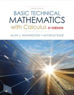 Basic Technical Mathematics with Calculus, SI Version (10e) - Allyn J. Washington