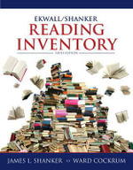 Ekwall/Shanker Reading Inventory : Pedagogical and Research Tools for Teacher-Researc... - James L. Shanker