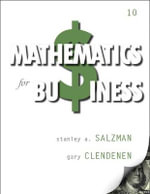 Mathematics for Business - Stanley A. Salzman