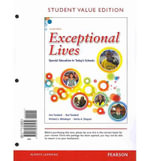 Exceptional Lives : Special Education in Today's Schools, Student Value Edition Plus New Myeducationlab with Pearson Etext -- Access Card Package - Ann Turnbull