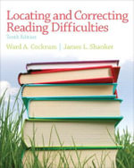 Locating and Correcting Reading Difficulties - Ward A. Cockrum
