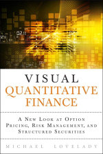 Visual Quantitative Finance : A New Look at Option Pricing, Risk Management, and Structured Securities - Michael Lovelady