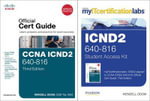 CCNA ICND2 Official Cert Guide with MyITCertificationLab Bundle (640-816) - Wendell Odom