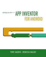 Starting Out with App Inventor for Android - Tony Gaddis