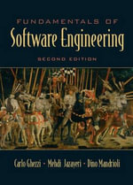 Fundamentals of Software Engineering - Carlo Ghezzi