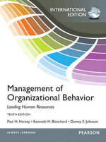Management of Organizational Behavior : International Edition - Paul H. Hersey