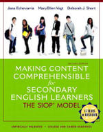 Making Content Comprehensible for Secondary English Learners : The SIOP Model - Jana Echevarria