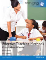 Effective Teaching Methods : Research-Based Practice - Gary D. Borich