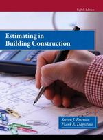 Estimating in Building Construction - Steven Peterson
