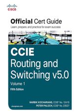 CCIE Routing and Switching V5.0 Official Cert Guide, Volume 1 - Narbik Kocharians