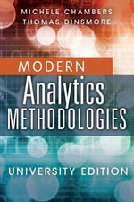 Advanced Analytics Methodologies Student Workbook - Michele Chambers