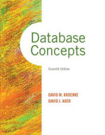 Database Concepts - David M. Kroenke