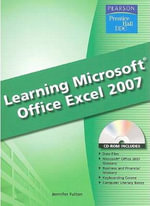 Learning Microsoft Excel 2007 - Prentice Hall