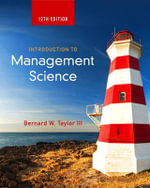 Introduction to Management Science - Bernard W. Taylor