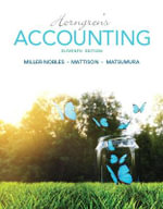 Horngren's Accounting - Tracie L. Nobles