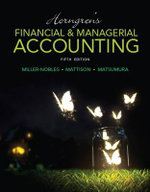 Horngren's Financial & Managerial Accounting - Tracie L. Nobles