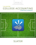 College Accounting Chapters 1-12 with Study Guide and Working Papers - Jeffrey Slater