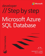 Windows Azure SQL Database Step by Step - Leonard G. Lobel