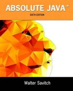 Absolute Java - Walter J. Savitch