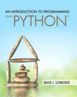 An Introduction to Programming Using Python - David I. Schneider